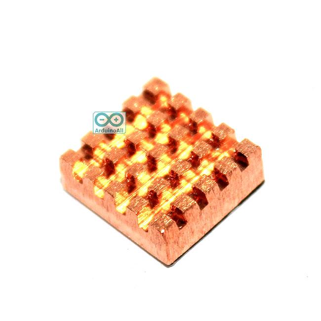 แผ่นระบายความร้อน heatsink สำหรับ Raspberry Pi / ชิฟอุปกรณ์อิเล็กทรอนิกส์