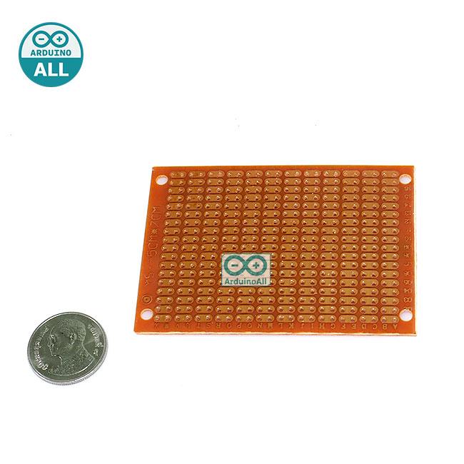 PCB แผ่นปริ๊นอเนกประสงค์ ขนาด 5x7
