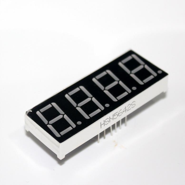 "7 Segment 0.56"" Common Anode 4 digit Red ไฟ 7 segment 0.56"" 4 หลัก สีแดงแบบไฟบวกร่วม 5461B"