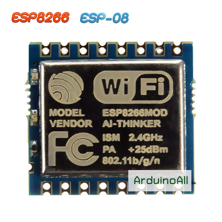 ESP8266 ESP-08 โมดูล Wi-Fi ESP8266 รุ่น ESP-08