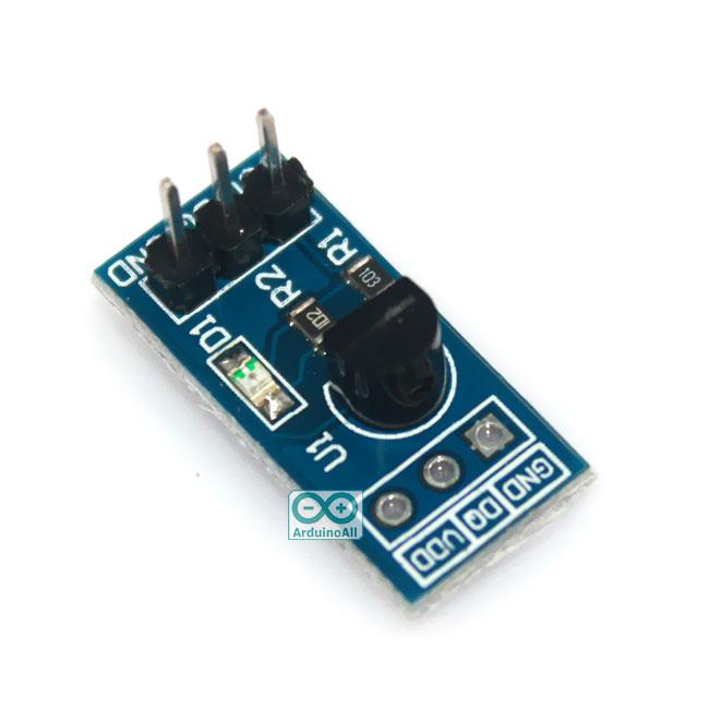 DS18B20 Temperature Measurement Module เซนเซอร์วัดอุณหภูมิ DS18B20