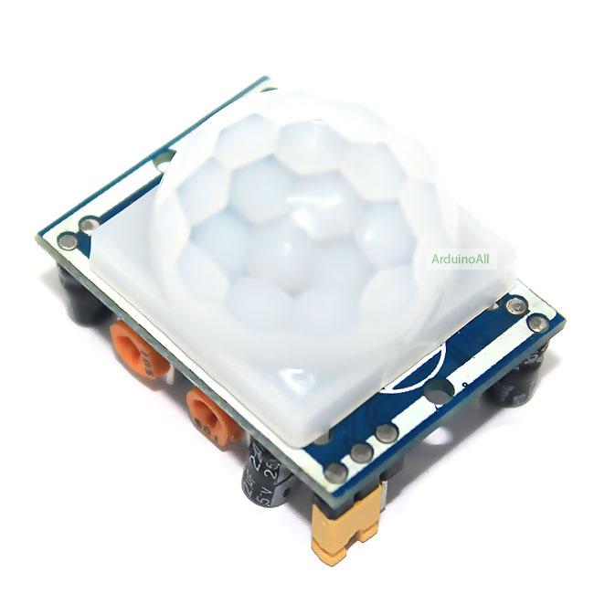PIR HC-SR501 เซนเซอร์ตรวจจับความเคลื่อนไหว Motion Sensor Module HC-SR501