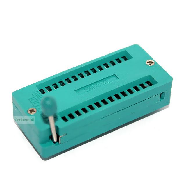 Universal IC ZIF Socket 28 Pin แบบกว้าง