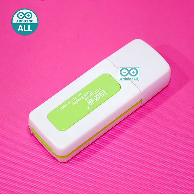 SD Card reader USB random color