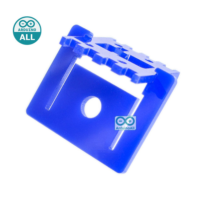 Raspberry PI Raspberry Pi Camera Mount Adjustable Pi Camera Mount สีน้ำเงิน