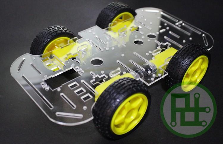 4WD drive smart car