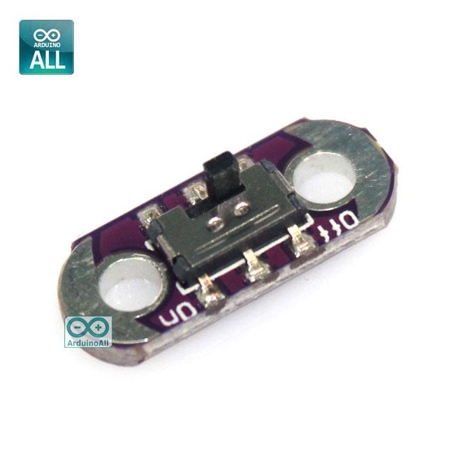 LilyPad Slide Switch Toggle โมดูลสวิตช์แบบเลื่อนเปิด/ปิด
