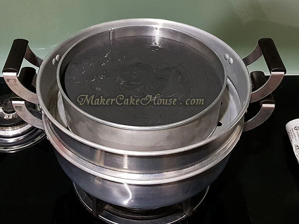 วิธีทำขนมสาลี่ชาร์โคล 12