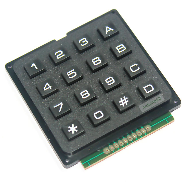 4x4 Matrix Keypad Module