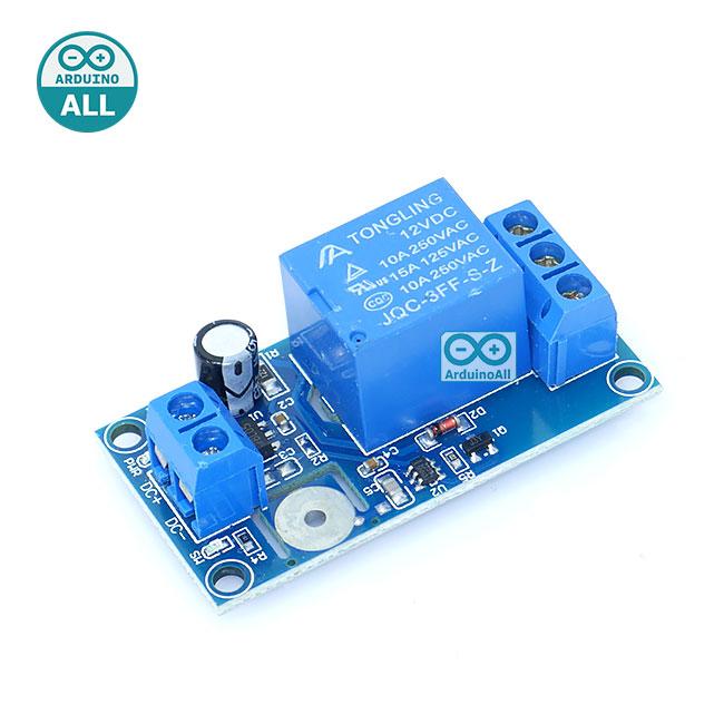 Touch Capacitive Switch Relay 12V สวิตช์สัมผัสพร้อมรีเลย์ แบบกดติด กดดับ