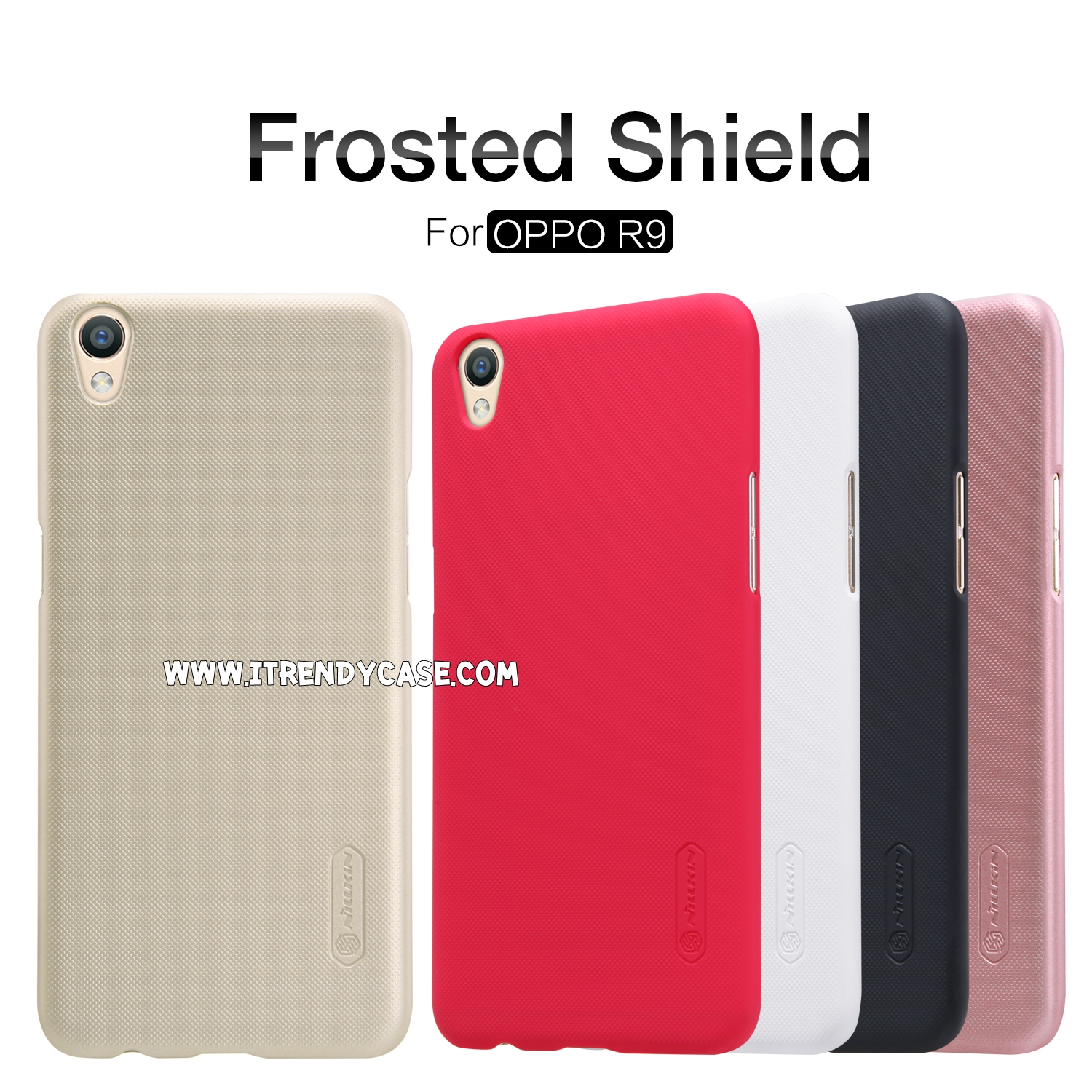 OPPO F1 Plus - เคสหลัง Nillkin Super Frosted Shield แท้