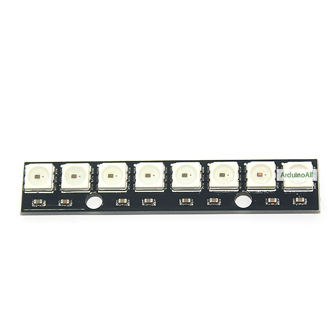 NeoPixel Bar 8 WS2812 RGB LED