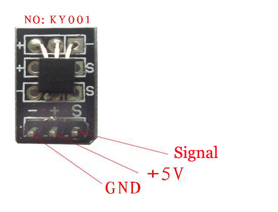 Temperature Sensor Module DS18B20