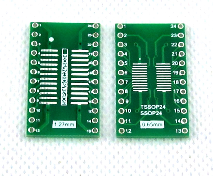 SOIC24 TSSOP24 SSOP24 SO24 SOP24 TURN DIP24 IC adapter Socket / Adapter plate PCB Suitable for Ia socket