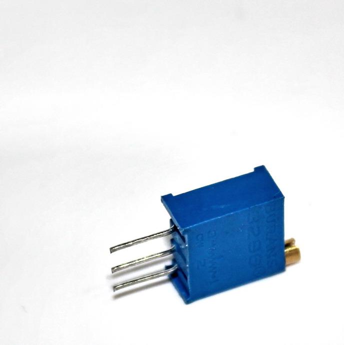 ตัวต้านทานปรับค่าได้ 5K แบบละเอียดหมุน 25 รอบ Trimpot 5 K 25 Turns 3296 Series Potentiometer Valiable Resisaor