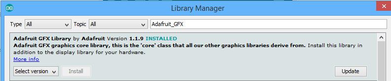 Adafruit Ili9486 Library