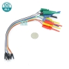Jumper Wire 10p Test Hook 10 เส้น ปลายสายแบบผู้