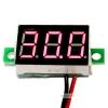 """ดิจิตอล โวลต์มิเตอร์ 4.5-30V จอขนาด 0.36"""" Mini Digital Voltmeter DC 4.5-30V Voltage Meter Voltmeter 4.5-30V สีแaง"""