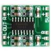 2.5-5v 2x3w ขยายเสียงขนาดเล็ก PAM8403 module