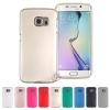 Samsung Galaxy S6 Edge - เคส TPU i-Jelly Metal Case by GOOSPERY (Mercury) แท้