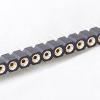 ก้างปลาซ็อกเกตขากลมอย่างดี Single Row Pin Header round hole 1X40 Pin
