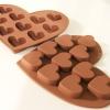 พิมพ์ซิลิโคนทำช็อกโกแล็ต คุ้กกี้ วุ้น รูปหัวใจ