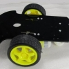 Smart Car 2WD Robot Car Chassis With 2 Motors Magician Robotics Platform for Arduino สีดำ