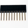 Stackable Header for arduino 1x10 2.54MM 10Pin 10MM Long Needle Female Pin Header Strip Stackable Header
