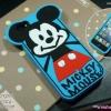 เคสซิลิโคน Mickey Mouse - iPhone 5, 5s