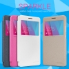Huawei GR5 - เคสฝาพับ Nillkin Sparkle leather case แท้