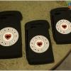 iPhone 6 Plus, 6s Plus - เคสซิลิโคน ลายโทรศัพท์หมุน