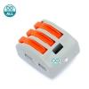 Wire connector quick terminal 0.75-4 square splitter PCT-215 Jack ต่อสายไฟแบบเร็ว 3 จุด