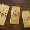 iPhone 6 Plus, 6s Plus - เคสใสลายปิกาจู Pikachu Face Pokemon