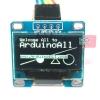 "OLED LCD LED Display Module 128X64 0.96"" For Arduino สีขาว"