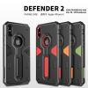 iPhone X - เคสกันกระแทก ทรงถึก Nillkin Defender2 แท้