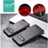 iPhone 6 Plus / 6s Plus - เคส TPU ลายเคฟล่า Carbon พร้อมขาตั้ง TOTU DESIGN แท้