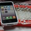 COACH CASE (ลายตัวCสีเงิน) - iPhone 4, 4s