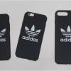 iPhone 7 Plus - เคสปิดขอบ ลาย black adidas