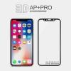 iPhone X (เต็มจอ/ขอบนิ่ม) - กระจกนิรภัย 3D AP+ PRO 0.23mm Nillkin แท้