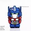 iPhone 5 / 5s - เคสซิลิโคน TPU 3D ลาย Transformers (Optimus Prime)
