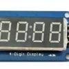 "7 Segment 4 Digit Display LED Module Clock For Arduino 0.36"""