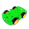 Smart Car 4WD double layer รถ Smart Car 2 ชั้น 4 ล้อ สีเขียว
