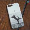 iPhone 7 Plus - เคสปิดขอบ ลายแมวดำ M