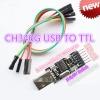 USB TTL CH340 USB Downloader Module พร้อมสายเบิร์น