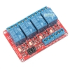 Relay 4 Channel 5V relay Active High / LOW Relay Module Shield 250V/10A relay 5v