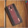 Huawei Mate9 - เคสลายหนัง ดำแถบน้ำตาล motomo