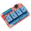 Relay 4 Channel Relay 12V relay Active High / LOW Relay Module Shield 250V/10A