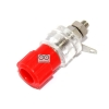 Terminal M4 4mm screw inverter audio amplifier power supply terminal Red