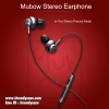 ROCK หูฟัง Mubow Stereo Earphone (วัสดุดี เสียงสมจริง) แท้