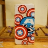 iPhone 6 Plus / 6s Plus - เคสใส The Avengers (Captain America Big)